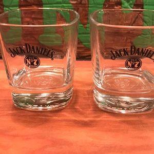 Jack Daniel's Stout Heavy Cocktail Glasses